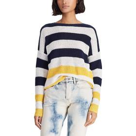 3881be258ced Polo Ralph Lauren γυναικεία πλεκτή μπλούζα Striped Linen - 211732918001 -  Κίτρινο