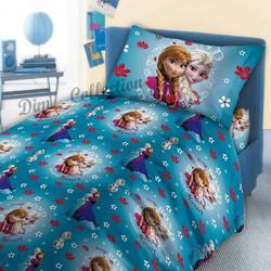 9c4dfe831ff Σεντόνια Μονά (σετ) Dim Collection Disney Frozen 317 Μπλέ Μονά