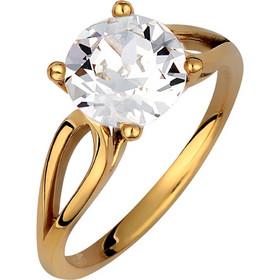 Μονόπετρο δαχτυλίδι σε ασήμι 925 με λευκή πέτρα SWAROVSKI AD-V16101WG1 cd256af9fe0