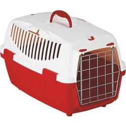b10e34401509 ΚλουβίΤ Μεταφοράς Σκύλου  Γάτας Gulliver No1 48 x 32 x 31 εκ. Χρώμα Κόκκινο