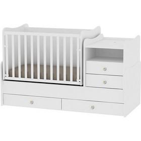 e8026788771 Bertoni Lorelli Bed Combo Πολυμορφικό Κρεβάτι Κούνια - White (10150560024A)