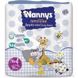 Nannys Sensitive Maxi No4 7-18kg 20τμχ 011315a4f6b