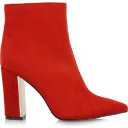 Exe Shoes Γυναικεία Παπούτσια Μποτάκια PATRICIA-910 Κόκκινο Καστόρι  H37009105704 430722 b36024d02a6