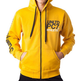 bb72064217dd Paco + Co Men s Graphic Zipper Hoodie 8593 Yellow