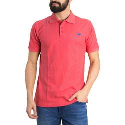 625f0b4a3784 Ανδρική Polo Μπλούζα Green Wood Κοραλί 900671W