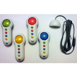Big Button Pads BUZZERS with Replacement Sensor / Receiver for Xbox 360