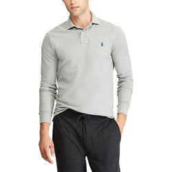 db25a70d6d59 POLO RALPH LAUREN Custom Slim Fit Weathered - Andover Heather - 710677297007