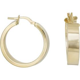 Κρίκοι σκουλαρίκια Κ14 χρυσά 031268 031268 Χρυσός 14 Καράτια 9b08628b920