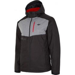 07864c1ec3b Ski jacket 4f M H4Z18-KUMN003 - black and gray