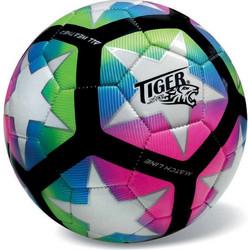 Δερμάτινη Μπάλα Ποδοσφαίρου Tiger New Match Line Πολύχρωμη 99f324aeeea