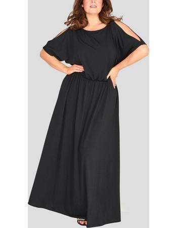 μαυρο φορεμα με μανικι - Φορέματα  0205b16ee28