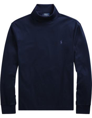 3309e945bc10 Polo Ralph Lauren ανδρική μπλούζα με ζιβάγκο μπλε σκούρα Soft-Touch Cotton  Turtleneck - 710716552003