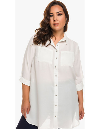 λευκο πουκαμισο γυναικειο μακρυ - Γυναικεία Πουκάμισα  71f074c43ee