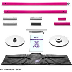 Στύλος Pole Dancing Sport NS 45mm Powder Coated PD Pink X-Pole FNS45PCP