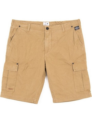 EMERSON MEN'S GARMENT DYED CARGO SHORT PANTS (SMRS1699FD-CIGAR)