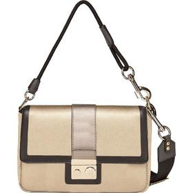 Trussardi Jeans γυναικεία τσάντα ώμου Large Dreambox - 75B00561-9Y099997 -  Χρυσό 49a7ee6e078