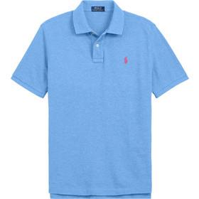 0e94cc9fefb2 Polo Ralph Lauren ανδρική μπλούζα πόλο Slim Fit Mesh - 710536856041 -  Γαλάζιο