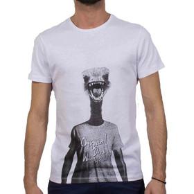 1e7361509cf5 Ανδρικό Κοντομάνικη Μπλούζα T-shirt BLEND 20702318 Λευκό