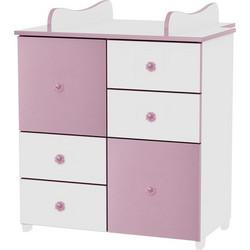 0f2cb4f809f Συρταριέρα Cupboard White/Pink Lorelli 10170110020A (ΔΩΡΟ αλλαξιέρα)