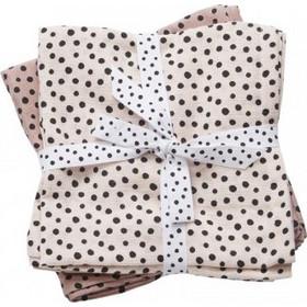 Πάνα αγκαλιάς Done by Deer Happy dots 2τμχ 70 70cm Powder e44d5bc0ca6