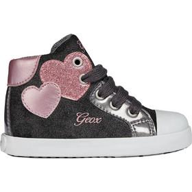 3f9551a6434 Geox παιδικά sneakers μποτάκια Baby Kilwi Girl - B84D5C - Μαύρο