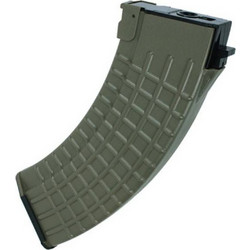 King Arms 600rds Waffle Pattern Mag for AK series - OD