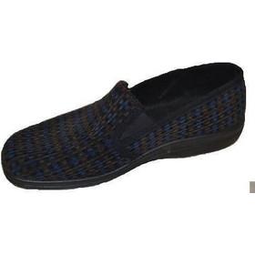 PADDY Ανδρική Ανατομική Παντόφλα Σκούρο Μπλε-Καφέ No 43 7128ba178b5
