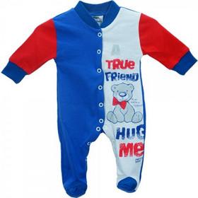 Βρεφική Πυτζάμα Pretty Baby 32842-0-352 Μπλε Λευκό Αγόρι c901abc4e01