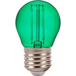 Λαμπτήρας Led E27 G45 Filament 2 Watt Πράσινη VT-2132 V-TAC 7411 f6c1c38a9c5