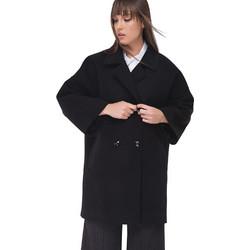 4Tailors The White Purity Coat (FW18-038 BLACK) e18d859e14d