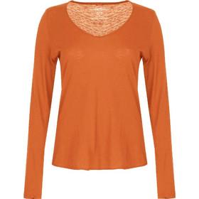 64b951e89cdd Βαμβακερή μπλούζα με V λαιμόκοψη WB4274.4001+11