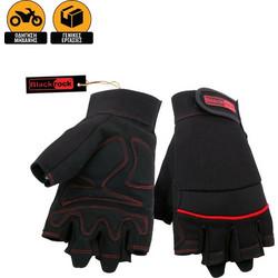 Γάντια Εργασίας - Μηχανής με Κομμένα Δάχτυλα Blackrock Machine Fingerless 017da0d017a