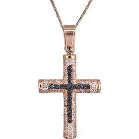 b58c945d990 σταυρος με αλυσιδα - Βαπτιστικοί Σταυροί Ροζ Χρυσό   BestPrice.gr