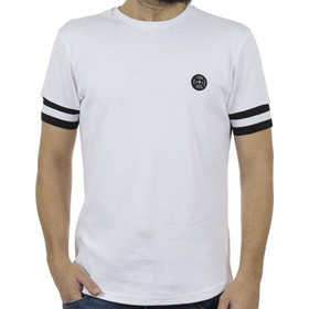 93f2310e30d6 Ανδρικό Κοντομάνικη Πικέ Μπλούζα T-Shirt FREE WAVE 91105 Λευκό