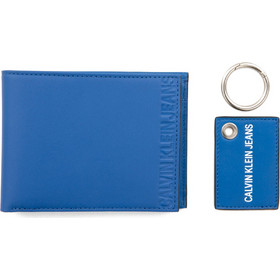 4d298be279 CALVIN KLEIN Leather Wallet and Keyring Gift Set.