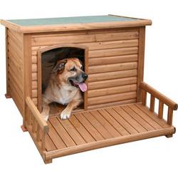 Σπίτι Σκύλου Ξύλινο Μεγάλο με Αυλή 009bc32eac0