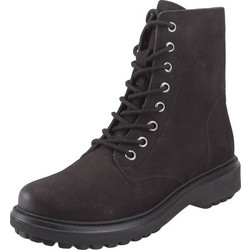 e0dbad5a4ba Geox D847AH 000LT C9999 Asheely nbk goat leather Black ankle boots