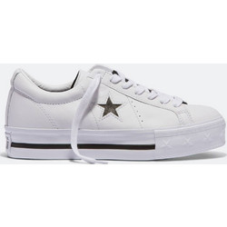 0c3694260b9 Converse One Star Platform Suede Low Top 562735C