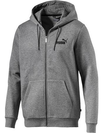 c46219b89f3a Puma Essentials Full Zip Fleece Hoodie 851763-03