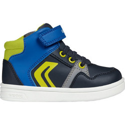 Geox παιδικα sneakers μποτάκια Baby Djrock Boy - B842CA - Μπλε f2951781d47