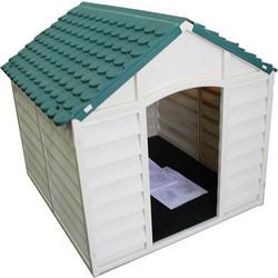 ce56e79a706a STARPLAST Σπίτι Σκύλου 71x72x68.5cm Medium 6kg Μπεζ-Πράσινο