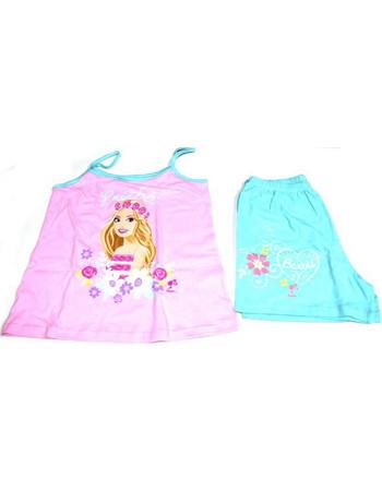 a39e0ba3e64 Πυτζάμα παιδική κορίτσι με την Barbie Μινέρβα βαμβακερή