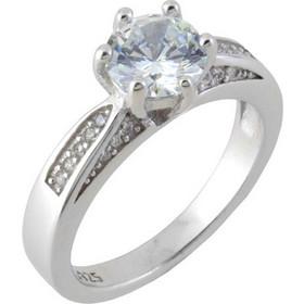 κοσμηματα ασημενια - Μονόπετρα Δαχτυλίδια  66204e9c51a