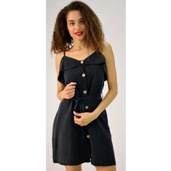 7881bc3f146 Φόρεμα μίνι με ζώνη και κουμπιά
