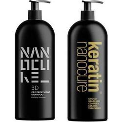 Keratin Nanocure Pre- Keratin Shampoo   Keratin Treatment 1000ml 3b8905ad9f6