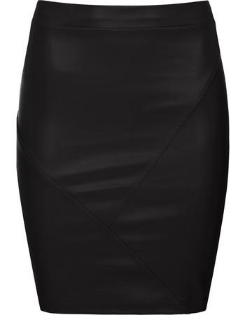 Στενή mini φούστα από δερματίνη WL2071.2001+2 c3b8c88511e
