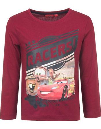 Παιδική Μακρυμάνικη Μπλούζα Χρώματος Κόκκινο Cars Disney HQ1246 3832f5f671b