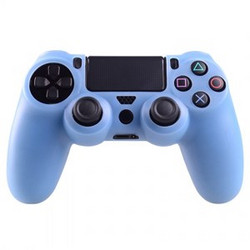 Silicone Case for PS4 Controller - Light Blue ACC