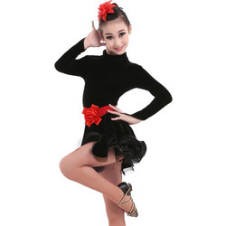 8a54a897779 Παιδική Latin Στολή χορού L17 7717