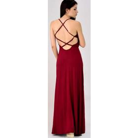 d4f3db916593 Maxi φόρεμα με ανοιχτή πλάτη